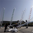 북한, 대북 전단 향해 수발 포격…군, 대응포격