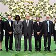 유엔 세계식량계획 사무총장 일행 접견한 김영남 위원장