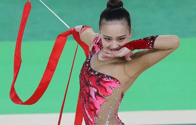 新体操初メダルに期待