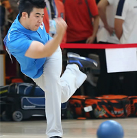ア大会ボウリング男子5人チーム戦で韓国金 朴種禹2冠