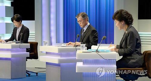 مرشحو الرئاسة يختلفون حول الإصلاحات السياسية وكوريا الشمالية