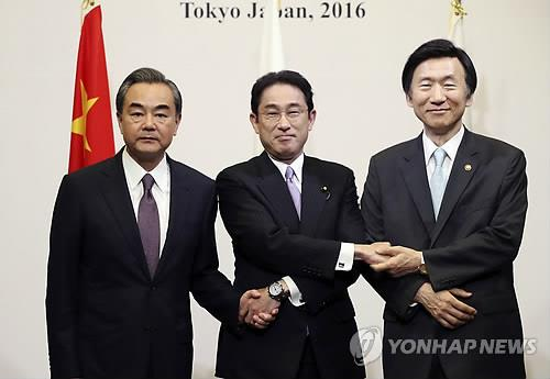 سيئول وطوكيو وبكين تتعهد بقيادة الجهود الدولية لمواجهة  استفزازات كوريا الشمالية