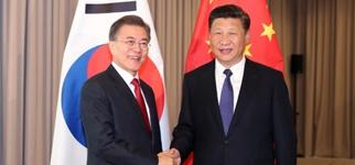"""(25 سنة على العلاقات الكورية الجنوبية والصينية )تطور درامي... لكنها تواجه أكبر أزمة بسبب نشر """"ثاد"""""""