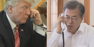 الرئيسان الكوري الجنوبي والامريكي:الحوار الكوري المشترك قد يليه حوار بين بيونغ يانغ وواشنطن