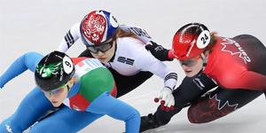 (الأولمبياد) حرمان تشوي مين جونغ من فضية التزلج السريع على المضمار القصير