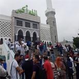 (الأخبار المصورة)المسلمون في كوريا الجنوبية يحتفلون بعيد الأضحى المبارك في مسجد سيئول