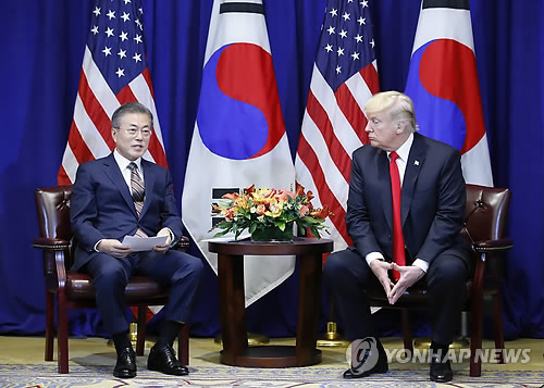 الرئيس مون يعبر عن أمله في عقد لقاء القمة الكورية الشمالية والامريكية الثاني مبكرا
