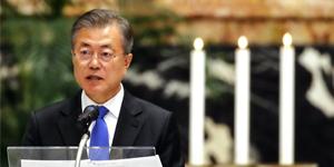 الرئيس مون يبشر بالسلام الكوري في الفاتيكان