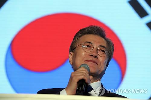 الرئيس المنتخب مون جيه إن يعلن عن أنه يصبح رئيسا لجميع الشعب