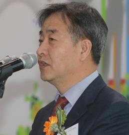 韩联社社长在归田博览会上致辞
