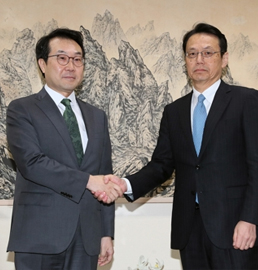 朝核六方会谈韩日团长会晤
