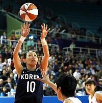 亚运女篮决赛韩国70比64中国 时隔20年夺冠
