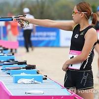 韩国首获现代五项女子团体赛亚运金牌