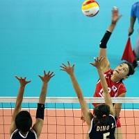 韩国女排3比0完胜中国 时隔20年再获亚运金牌