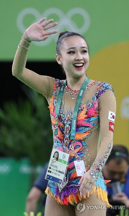 孙妍在晋级里约奥运艺体个人全能决赛