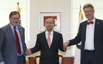 S. Korean, British, EU diplomats hold talks on Brexit