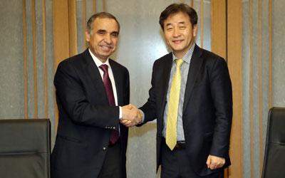Yonhap News CEO, Jordanian envoy envision strengthened cooperation between news agencies