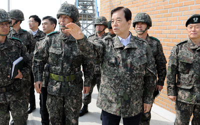 Defense chief orders immediate retaliation to N.K. provocations
