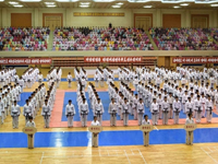 N.K. holds martial arts championship on anniversary