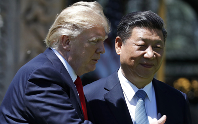 Trump defends decision to not label China currency manipulator to solve N.K. problem