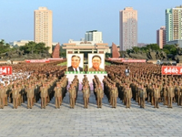 N.K. rally ahead of armistice day