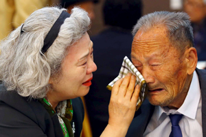 Separated families voice hope for reunions with their kin in N. Korea