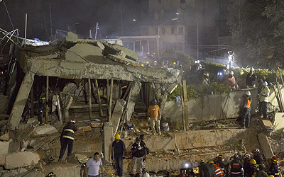 S. Korean confirmed dead in quake-hit Mexico