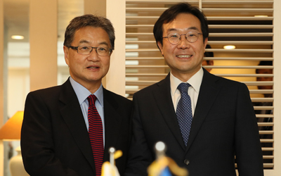 S. Korea, U.S vow peaceful resolution to N.K. issue, seek sanctions, pressure
