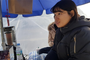 Young Koreans brave winter chill in protest at Japan's lack of repentance over sex slavery