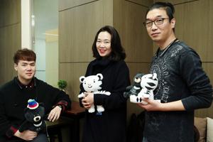 PyeongChang Olympics' unlikely star: Soohorang the white tiger