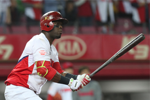 Perception of No. 2 hitter changing in S. Korean baseball