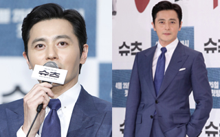 Actor Jang Dong-gun talks about suits in press event for 'Suits'