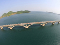 N. Korea's new railway bridge