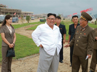 NK leader's field trip