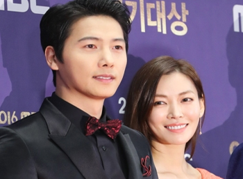 Actor Lee Sang-woo to tie the knot with actress Kim So-yeon
