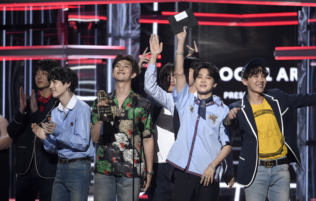 BTS scoops up second Billboard Music Award for Top Social Artist