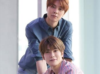 Boy group NCT's Johnny & Jaehyun