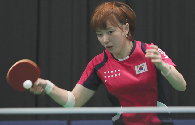 Table tennis player Suh Hyo-won