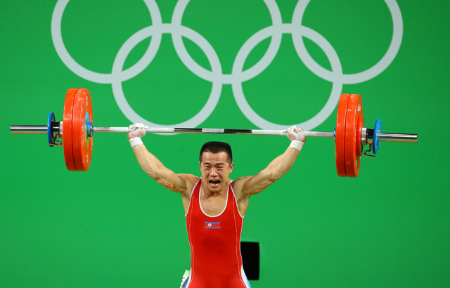 Weightlifter wins N. Korea's 1st medal in Rio