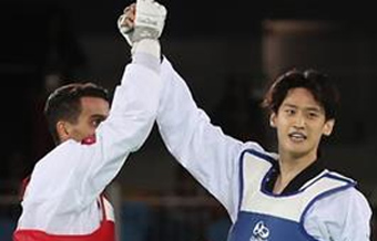Taekwondo bronze medalist feels 'more mature' after roller-coaster ride