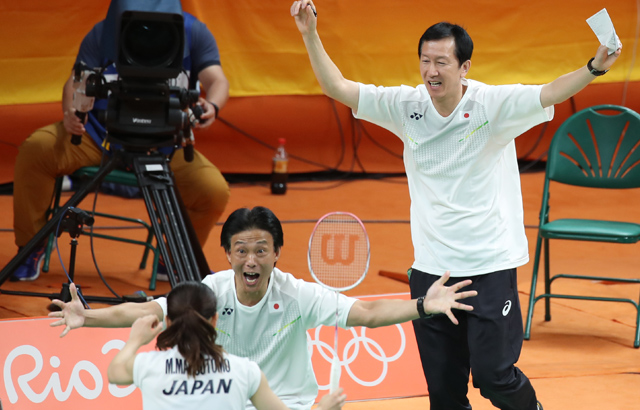 S. Korean badminton coach leads Japan to gold medal
