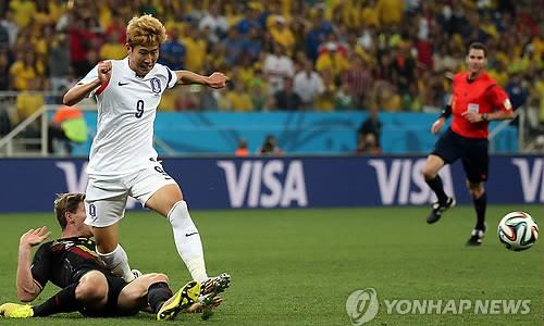 Unleashed at last, dynamic Son one of few bright spots for S. Korea