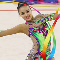 Son Yeon-jae gives S. Korea first gold in rhythmic gymnastics