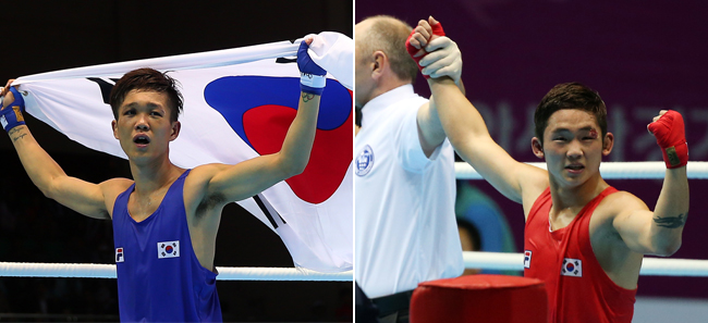 S Korea grabs 2 golds, 2 silvers in boxing