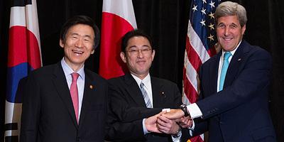 Les chefs des diplomaties sud-coréenne, américaine et japonaise augmentent la pression sur le Nord