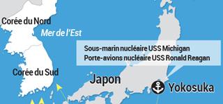 Moyens stratégiques américains autour de la péninsule coréenne