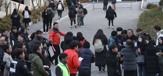 Plus de 590.000 candidats passent le «Suneung» après son report causé par le séisme