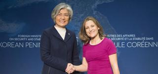 Le Canada affiche sa solidarité pour résoudre le nucléaire nord-coréen