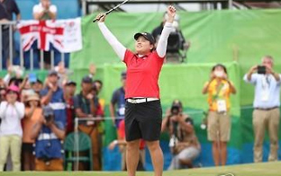 (LEAD) Rio 2016-Golf : Park In-bee remporte l'or à l'individuel femmes