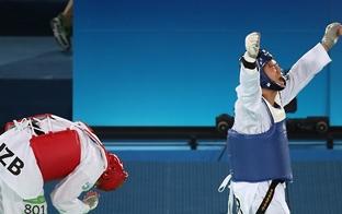 (LEAD) Rio 2016-Taekwondo : Cha Dong-min remporte le bronze